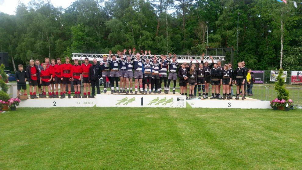 Jugend gewinnt Internationales Turnier in Eibergen