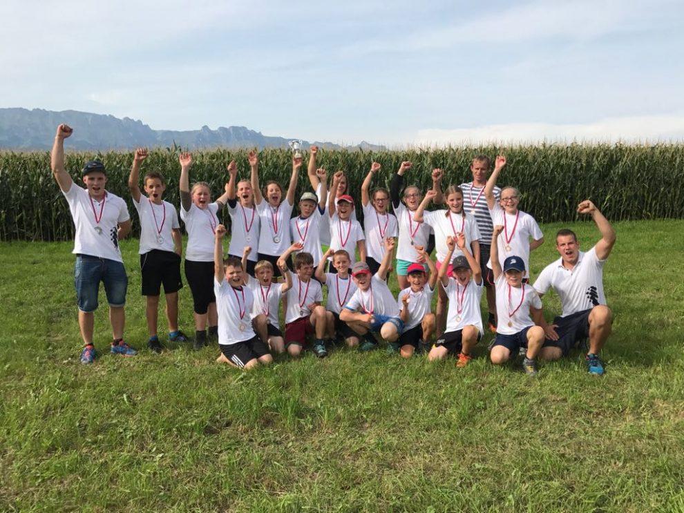Hervorragender Einsatz an der Schülerschweizermeisterschaft