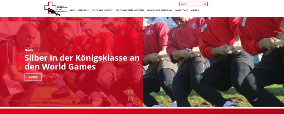 Schweizer Verband mit neuer Homepage