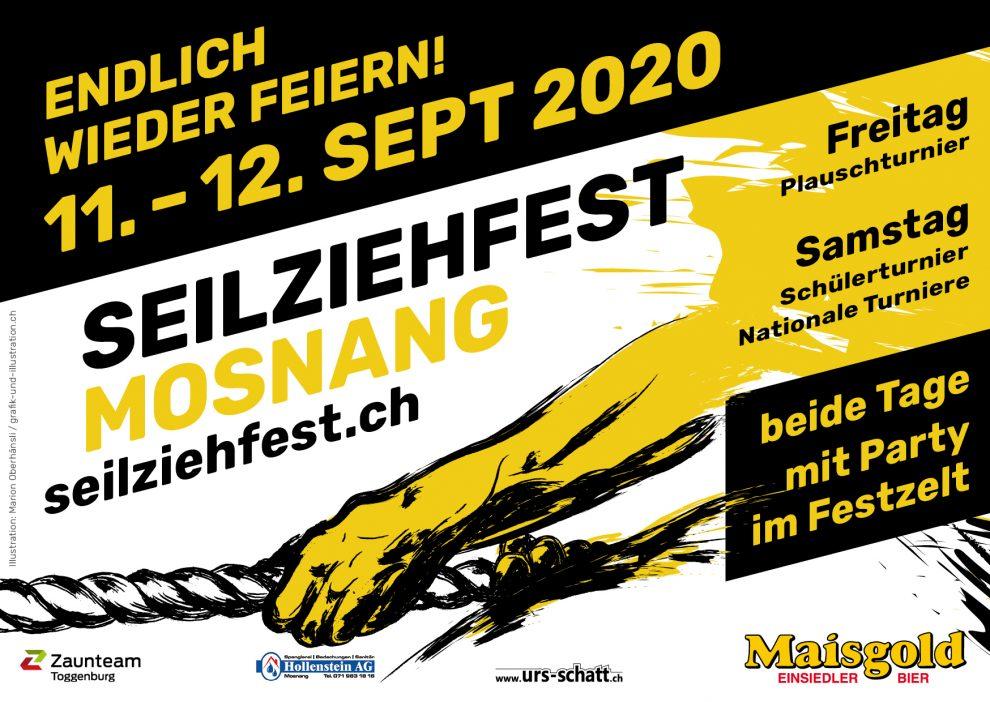 Seilziehfest 2020: Vom 11.-12. September wird gefeiert!